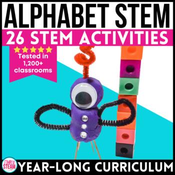 Alphabet STEM Challenges | Alphabet STEAM Challenges