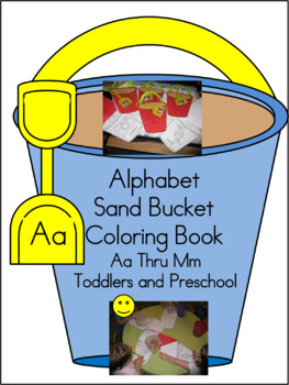 Alphabet San Buckets Books for Toddlers BUNDLE