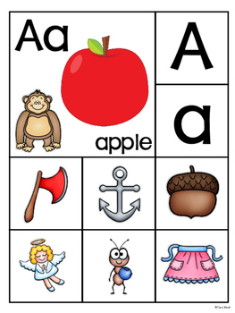 Alphabet Say and Sort