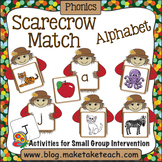 Alphabet - Scarecrow Alphabet Match