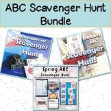 Alphabet Scavenger Hunt Bundle