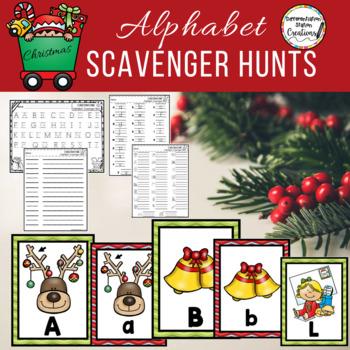 Alphabet Scavenger Hunt: Christmas