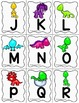 Alphabet Scavenger Hunt - Dinosaurs