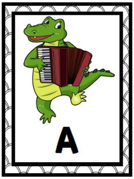 Alphabet Scavenger Hunt: Music A-to-Z