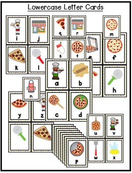 Alphabet Scavenger Hunt: Pizza
