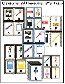Alphabet Scavenger Hunt: School