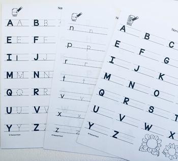 Alphabet Scavenger Hunt - Spring