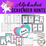 Alphabet Scavenger Hunt: Unicorns A-to-Z