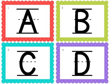 Alphabet Scoot Game