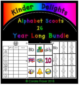 Alphabet Scoots 26 Year Long Bundle