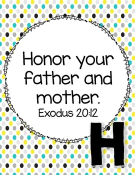 Alphabet Scripture Cards