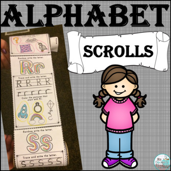 Alphabet Scrolls - Letter Practice