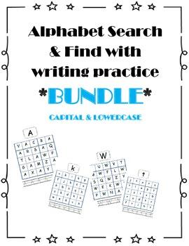 Alphabet Search & Find Bundle