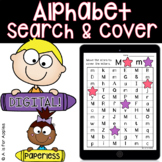 Alphabet Search and Color DIGITAL | Distance Learning