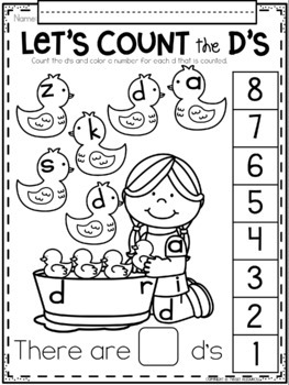 Alphabet Search and Count