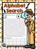 Alphabet Search-uppercase alphabet practice