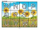 Alphabet Seasons Puzzles - Match Upper and Lower Case