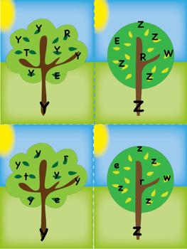 Alphabet Seek and Find, Tree Version