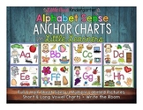 Alphabet Anchor Charts for Little Learners Plus Silent /e/ Long Vowels