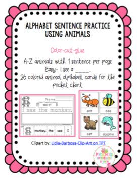 Alphabet Sentence Practice