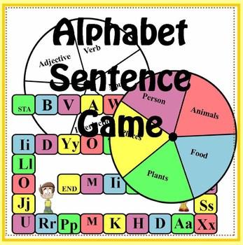Alphabet Sentences Game
