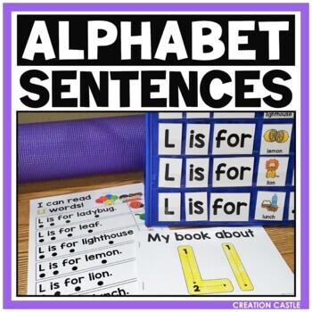 Alphabet Sentences - Reading with the Alphabet