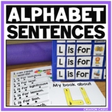 Alphabet Sentences - Reading with the Alphabet