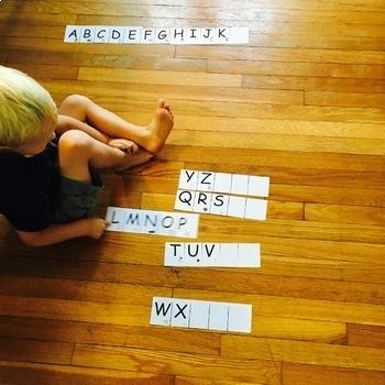 Alphabet Sequence Chunks