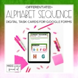 Alphabet Sequence Digital Task Cards for Distance Learning