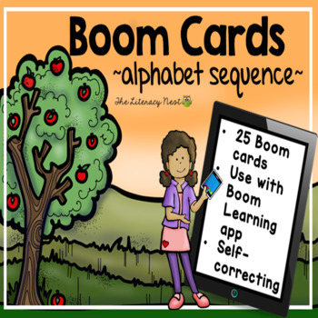 Alphabet Sequence Fall-Themed Boom Cards