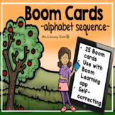 Alphabet Sequence Boom Cards