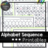 Alphabet Sequence Printables {Spring Theme}