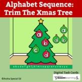 Alphabet Sequence: Trim The Xmas Tree   BOOM Card   Digita