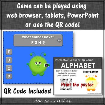 Alphabet Sequencing {Interactive Alphabet Game}
