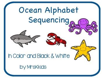 Alphabet Sequencing Ocean Edition