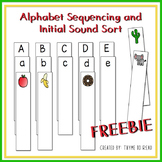 Alphabet Sequencing and Beginning Sound Match