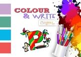 Alphabet Series - Color and Write