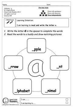 Alphabet Set 1