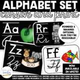 Alphabet Set {Cursive and Printing}