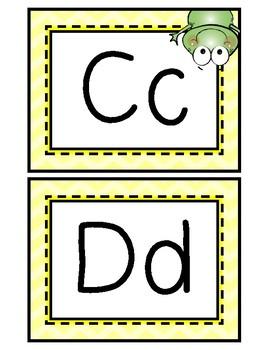 Alphabet Set: Frog Theme