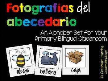 Alphabet Set – Spanish – Las fotografías del abecedario
