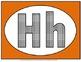 Alphabet Set of posters (Orange)