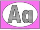 Alphabet Set of posters (Pink)