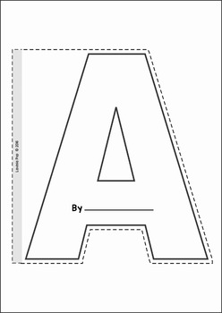 Alphabet Shape Booklets
