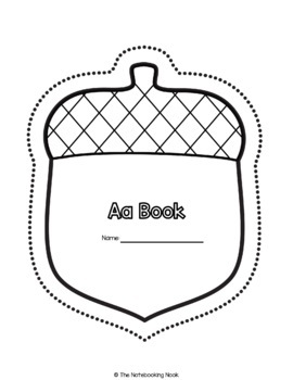 Alphabet Shape Books