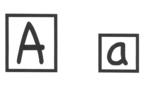 Alphabet Shape Box