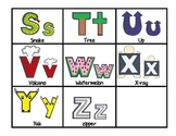 Alphabet Shape Picture Mnemonic