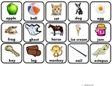 Alphabet, Shapes, & Numbers Matching Flashcards for Autism