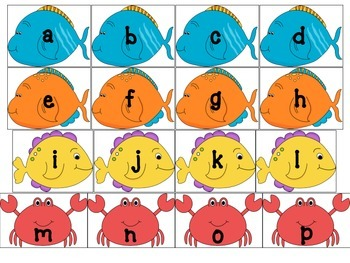 Alphabet Shark Game