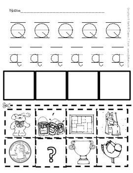 Alphabet Sheets